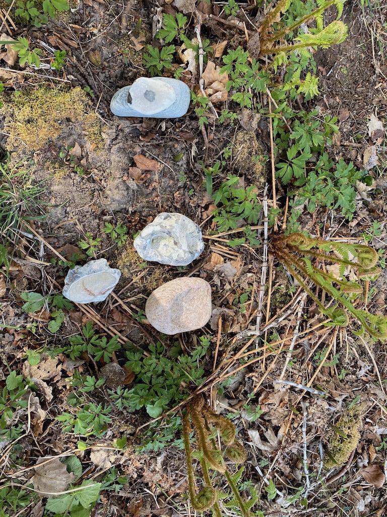 Sten opstilling